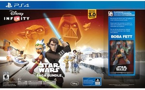 Disney Infinity: 3.0 Edition Starter Pack - Star Wars Saga Bundle (PS4)