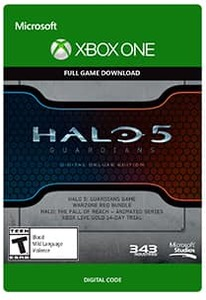 Halo 5: Guardians Digital Deluxe Edition (Xbox One Download Card)
