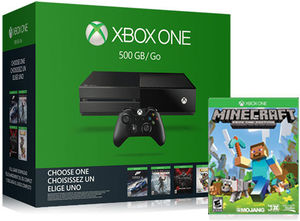 Xbox One 500GB Name Your Game Bundle + Free Game