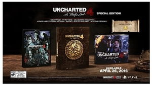 Uncharted 4: A Thief's End Special Edition (PS4)