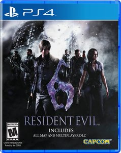 Resident Evil 6 (PS4 Download) - PS Plus Required