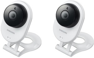 Samsung SmartCam 1080p WiFi IP Camera - 2 Pack (Refurbished)