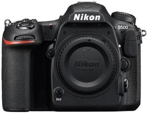 Nikon D500 DSLR Camera Body Only with 4K Video (Refurbished)