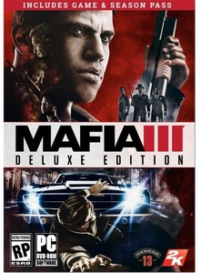 Mafia III Deluxe Edition (PC DVD - Requires GCU) + $10 Rewards