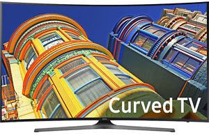 Samsung UN65KU6500 65-inch Curved 4K Ultra HD Smart TV (Refurbished)