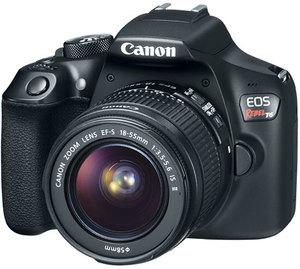 Canon Rebel T6 DSLR Camera with 18-55mm Lens (Refurbished)