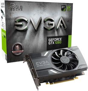 EVGA GeForce GTX 1060 SSC Gaming 6GB Graphics Card