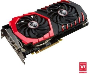 MSI Radeon RX 480 Gaming X 4GB GDDR5 Video Card