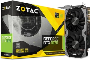 Zotac ZT-P10700G-10M GeForce GTX 1070 Mini 8GB GDDR5 VR Ready