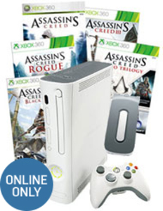 Xbox 360 20GB Assassin's Creed Bundle (Pre-owned)