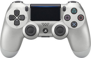 PS4 DualShock 4 Wireless Controller (Silver)