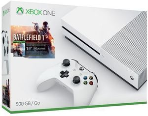 Xbox One S 500GB Battlefield 1 Bundle + Extra Controller + Ghost Recon Wildlands