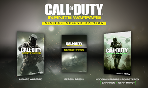 Call of Duty Infinite Warfare Digital Deluxe Edition (PS4 Download) - PS Plus Required