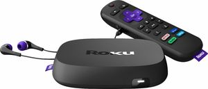 Roku Ultra Streaming Media Player + JBL Headphones