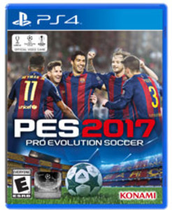 Pro Evolution Soccer 2017 (PS4 Download) - PS Plus Required