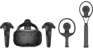 HTC Vive Virtual Reality System + Racket Sports Set with Trackers