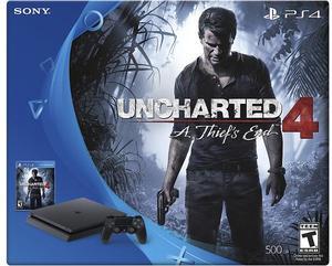 PlayStation 4 Slim Uncharted 4 Bundle