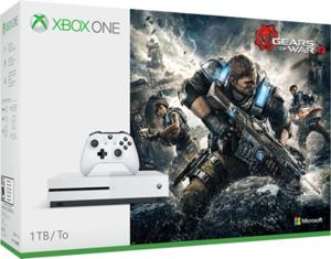 Xbox One S 1TB Gears of War 4 Bundle + Free Game