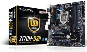 Gigabyte Z170 GA-Z170M-D3H Desktop Motherboard
