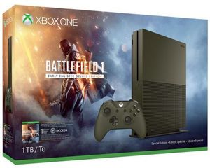 Xbox One S Battlefield 1 Special Edition 1TB Bundle + Free Game