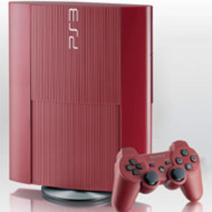 PlayStation 3 Super Slim Red 500GB Console (Pre-owned)