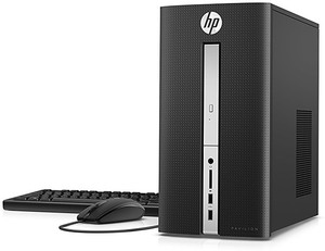 HP Pavilion 510-P010 Core i3-6100T, 8GB RAM, 1TB HDD (Refurbished)