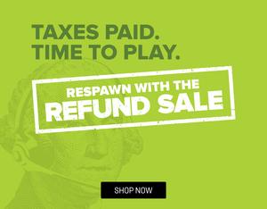 GameStop Re-fun your Refund Sale