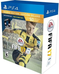 FIFA 17 Deluxe Edition Scarf Bundle (PS4)