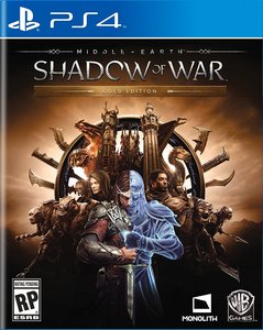 Middle-Earth: Shadow of War Gold Edition (PS4)