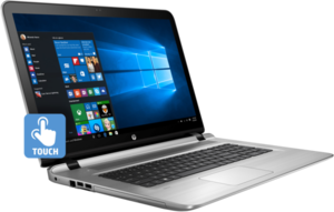 HP Envy 17-s151nr Touch, Core i7-7500U, 12GB RAM, 2TB HDD, GeForce 940MX, 1080p IPS Touch