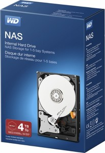 Western Digital NAS 4TB Hard Drive