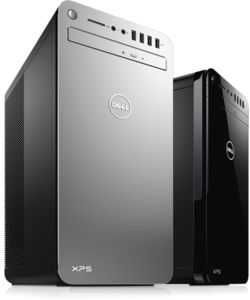 Dell XPS Tower Special Edition Core i5-7400, Radeon RX 580, 256GB SSD + 1TB HDD, 8GB RAM