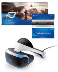 PlayStation VR Headset + PlayStation Camera + Farpoint Aim Controller