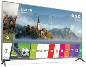 LG 55UJ6300 55-inch 4K Ultra HD HDR Smart TV