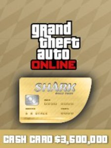 Whale Shark Cash Card ($3,500,000 - PS4)