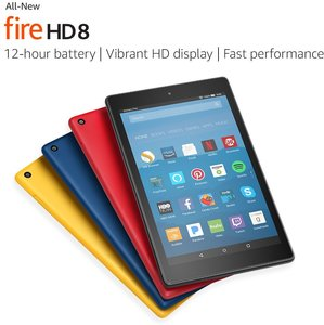 Fire HD 8 Tablet with Alexa 32GB with Special Offers (Requires Prime)