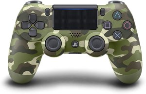 PS4 DualShock 4 Wireless Controller (Green Camouflage)
