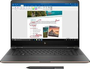 HP Spectre x360 Core i7-7500U, 16GB RAM, 512GB SSD, GeForce 940MX, 4K UHD Touch (New Open Box)