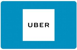 $100 Uber Gift Card (Email Delivery)