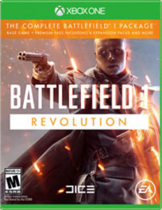 Battlefield 1: Revolution (Xbox One Download) - Gold Required