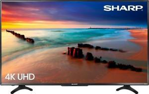 Sharp LC-50LBU591U 50-inch 4K Ultra HD Roku Smart TV