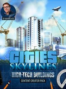 Cities: Skylines - Content Creator Pack: High-Tech Buildings (PC DLC)