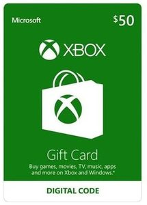 Xbox Live $50 Gift Card (Email Delivery)