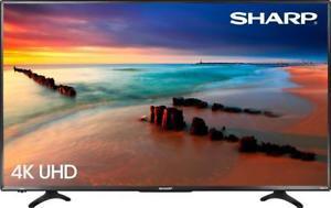 Sharp LC-43LBU591U 43-inch 4K Ultra HD Roku Smart TV