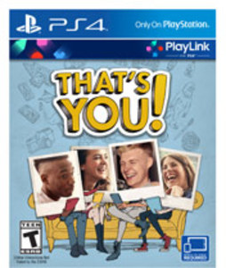 That's You (PS4) - Pre-owned