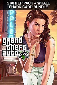 Grand Theft Auto V, Criminal Enterprise Starter Pack and Whale Shark Card Bundle (Xbox One Download)