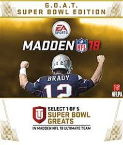 Madden NFL 18: G.O.A.T. Super Bowl Edition (Xbox One Download)