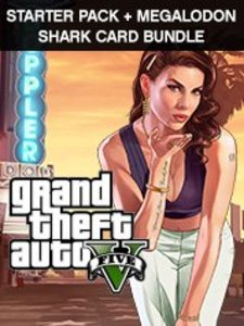 Grand Theft Auto V + Criminal Enterprise + Megalodon Shark Card Bundle (PC Download)
