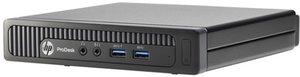 HP ProDesk 600-G1 Mini Desktop, Core i3-4130T, 4GB RAM, 256GB SSD (Refurbished)
