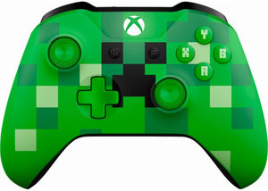 Xbox One Minecraft Creeper Bluetooth Wireless Controller